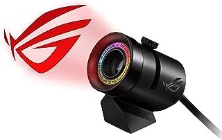 华硕 RGB 徽标投影仪,带磁支架 (USB) 适用于 Aura Sync 照明产品和软件,黑色(ROG 聚光)