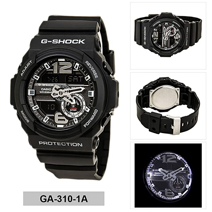 Casio 卡西欧 G-Shock GA-310-1ADR 男式石英手表 ¥455