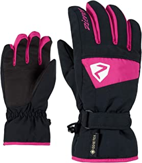 Ziener 儿童 Lago GTX 手套青少年滑雪手套/冬季运动   防水,透气