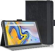 三星 Galaxy Tab A 10.5 平板电脑保护套,Acdream Folio 皮革保护套,适用于 Samsung Galaxy Tab A 10.5 SM-T590 / T595 2018 版本, Samsung Galaxy Tab A