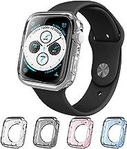 i-Blason 保护套兼容苹果手表 40mm 系列 5 2019 / 系列 4 2018,[光环] TPU 外壳[4 色组合套装] [兼容苹果手表系列 4/系列 5](40 毫米)