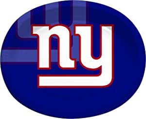 Creative Converting 8 Count New York Giants Paper Oval Platters