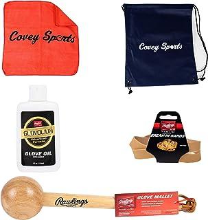Rawlings and Covey Sports 棒球/垒球手套破损套装
