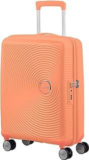 American Tourister 音箱 - Spinner S 可扩展手提行李箱 55 厘米 35.5/41 L 橙色(加利福尼亚州)