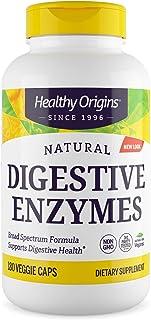 Healthy Origins Digestive Enzymes Vegetarian Capsules, 180 Count