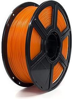 PLA 1kg 透明的 橙色