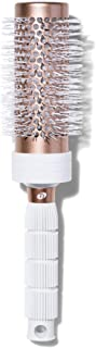 T3 - 卷发梳 √ 陶瓷涂层桶式透气圆形刷,用于吹干,耐热刷毛 2.5 Round