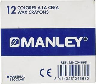 MANLEY 23 – 蜡笔 12 支