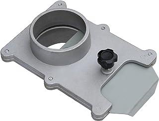 POWERTEC 70108 4 英寸防爆门适用于真空/灰尘收集器 2-1/2-英寸 70134