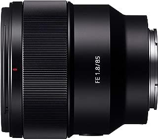Sony 索尼 SEL85F18 E卡口全画幅85 mm F1.8 Prime镜头-黑色