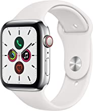 Apple Watch Series 5(GPS + Cellular款) MWWF2J/A Stainless Steel 44mm White Sport