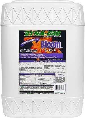 dyna-gro Bloom blm-0323–12–6植物食品1夸脱 5 Gallon