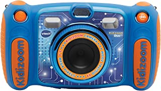 VTech 偉易達 兒童玩具相機 Duo 5.0 玩具套裝 藍色