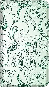 智能手机壳 手册式 对应全部机型 薄型印刷手册 cw-316top 套 手册 植物 极薄 轻量 UV印刷 壳wn-0253510-wy Xperia arc SO-01C 图案 A