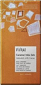 Vivani Milk Caramel Pink Salt Of Maras Bar 80g (Pack of 10)