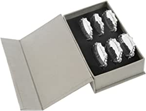 Amlong Plus Liquor 标签套装 灰色 6 件套 43235-75658