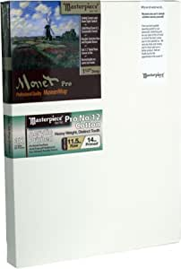 "Masterpiece Monet PRO 1-1/2"" Deep, 6 x 22 Inch, Sausalito 12oz Heavy Pro Cotton Canvas"
