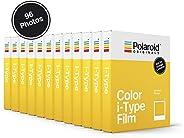Polaroid Originals 即时胶片彩色胶片 I-型,白色 (4668)4965 Color Film for I-Type - 12-Pack, 96 Photos (4965)