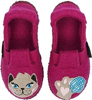 Nanga 女童趣味猫拖鞋
