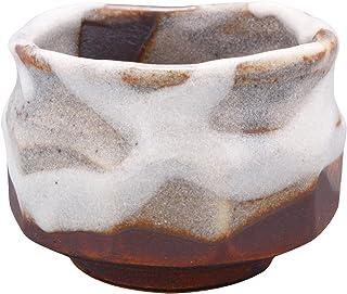 一久 吞口杯 美浓烧 白釉掛 123-1672