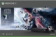 Xbox One X 1TB 游戏主机 +《星球大战绝地:陨落的武士团》(Star Wars Jedi: Fallen Order )同捆套装