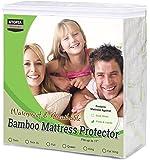 utopia 床上用品竹防水床垫保护罩