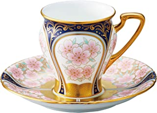 Noritake 罩杯_苏打 多 180ml 棋子 收藏 咖啡碗碟 (彩金彩樱文) T52520/H-881