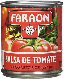 FARAON Tomato Sauce, 8 Ounce (Pack of 24)