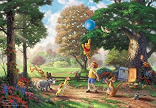 Tenyo 1000片 拼图 小熊维尼 Winnie The Pooh II 特别艺术收藏 (51x73.5cm)