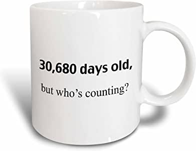 3drose evadane–HAPPY birthday–30,680DAYS old BUT whos 点数–马克杯 白色 15盎司