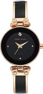 Anne Klein 女士金色钻石表盘手表