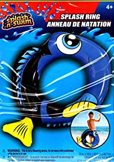 Splash-N-Swim - 55.88cm x 45.72cm 游泳环 - Swim Time Fun! - v2