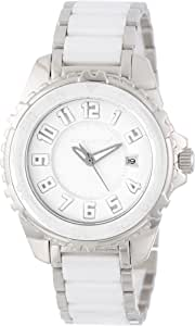 Momentum Women's 1M-DV63W0 Deep 6 Ceramic (Narwhal) Analog Dive 3D Dial and Date Watch