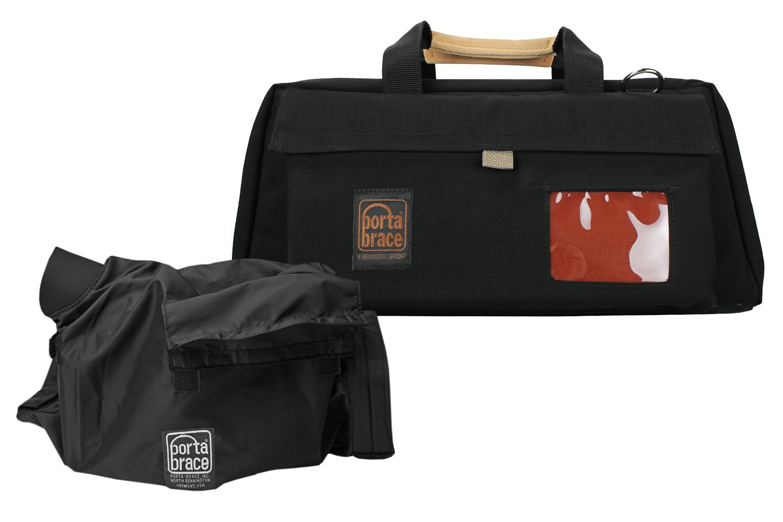 Portabrace CS-DV3RQS-M3ミニDVテープが落ちていたスーツケース(黒)