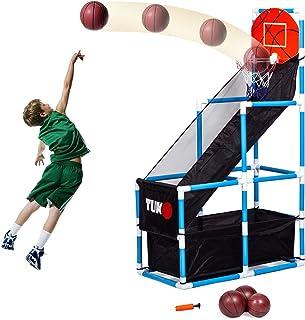Tuko 儿童篮球框街机射击训练系统玩具套装男孩女孩礼物 Basketball Hoop
