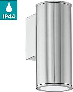 EGLO 94099 户外灯,银色 不锈钢 6,5 x 15 cm 94106