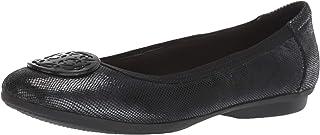 Clarks 女式 Gracelin Lola 平底芭蕾鞋