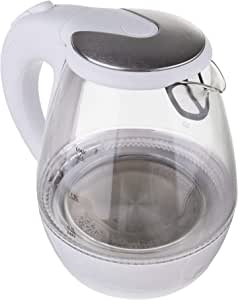 Mesko 电水壶,玻璃,白色,23.8×21×19.6 厘米,1 件