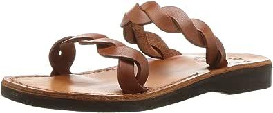 Jerusalem Sandals 女士 Joanna 拖鞋 蜂蜜色 41 Medium EU (10-10.5 US)
