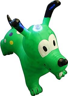 Forest & Twelfth 儿童充气蹦跳狗,适合幼儿 – 骑行跳跃跳跃跳跃跳跃跳跃跳跃跳跃狗狗,享受无尽乐趣 – 是送给孩子、女孩、3 岁以上男孩的*玩具礼物 *