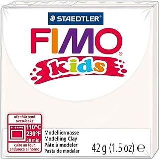 Staedtler Fimo 儿童烤箱模塑胶带,1.5 盎司,白色