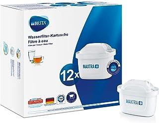 BRITA 碧然德 Maxtra+ 滤水器滤芯,12件装,白色