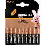 Duracell 金霸王加强功率型AAA碱性电池 18支装