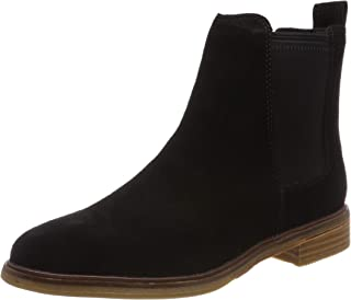 Clarks 女 Clarkdale Arlo生活休闲靴261367204035 黑色 36