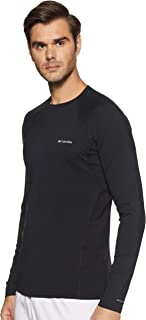 Columbia Men's Midweight Stretch Long Sleeve Top - Black, Large
