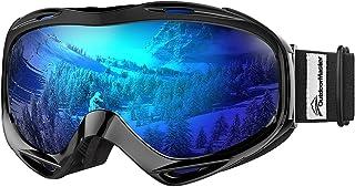 OutdoorMaster OTG 滑雪护目镜 - 男士、女士和青年*眼镜 - * 防紫外线