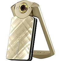 Casio 卡西欧 EX-TR500 数码相机 单机版 金色(内含8G TF卡 1110万像素 21mm广角 自拍神器 凹凸菱格花纹处理透明层机身)