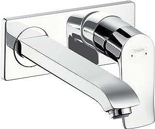 Hansgrohe 汉斯格雅 梦迪诗 节水型 暗装单把面盆龙头, 舒适空间225mm, 墙面安装, 镀铬