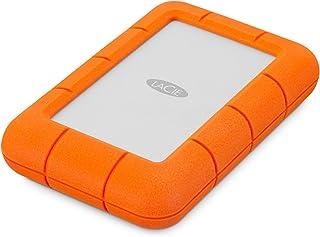 LaCie Rugged Mini系列 4TB, 便携式移动硬盘 适用于Mac, 2.5英寸,USB 3.0,Mac,PC