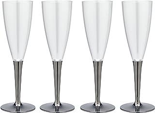 クリンプ 轻巧不易碎塑料香槟杯4个装 MB - 296